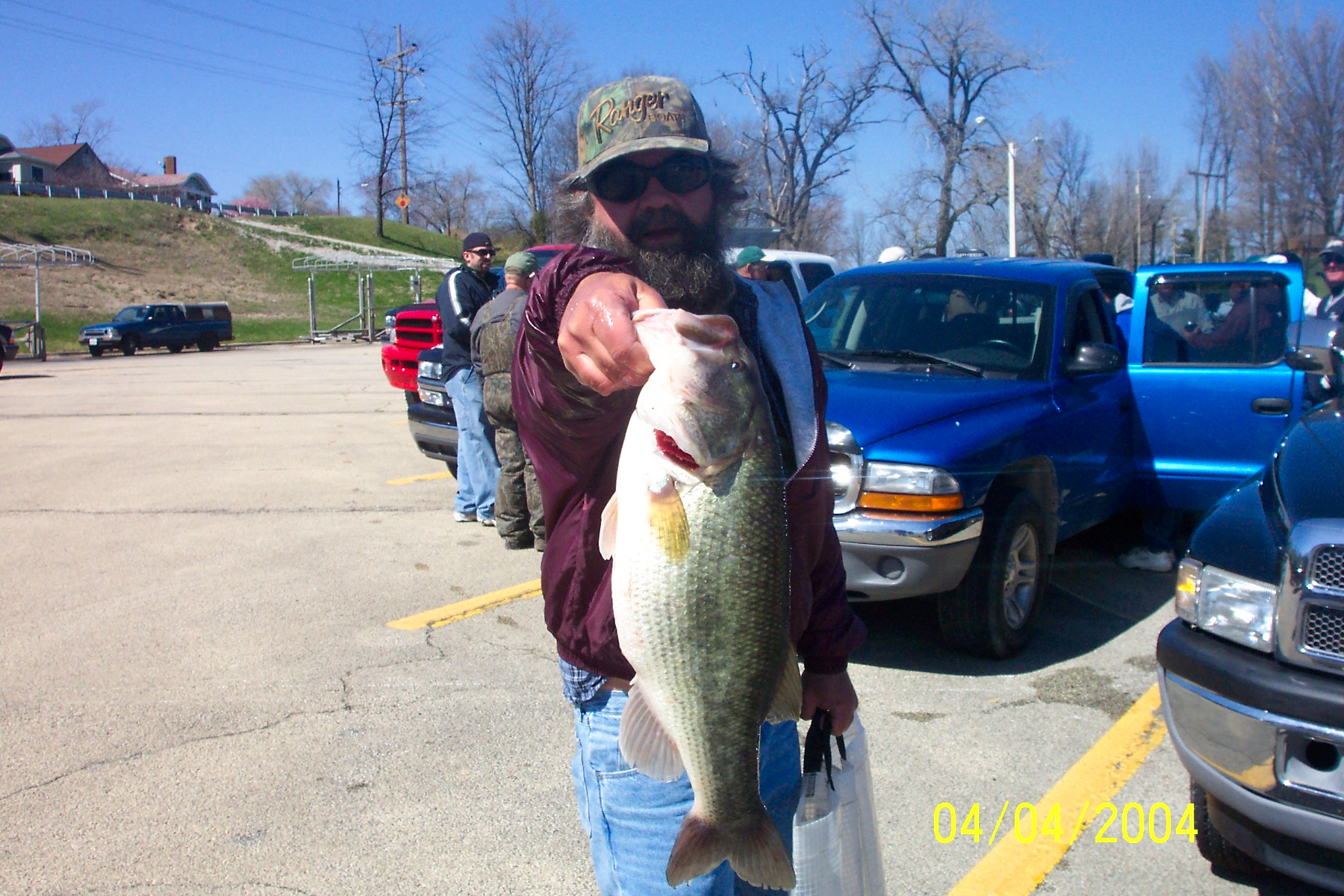 Don Dust with Big Bass at Decatur